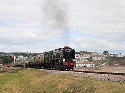 Goodrington - 34046 down Torbay Express.JPG