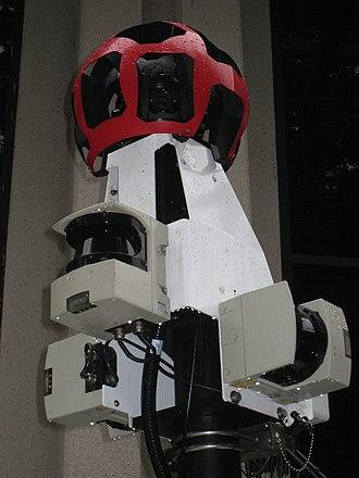 Google Street View - Image: Google Street View Camera Closeup