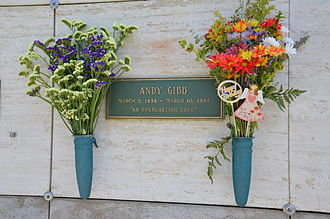 Andy Gibb - Andy Gibb's headstone