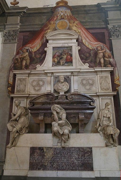Grab Michelangelo Buonarroti Santa Croce Florenz-1
