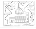 Grace Episcopal Church, South Prospect Street, Galena, Jo Daviess County, IL HABS ILL,43-GALA,11- (sheet 3 of 5).png