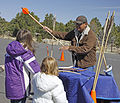 Grand Canyon Archaeology Day 2013 Learning Atlatl 3 - Flickr - Grand Canyon NPS.jpg
