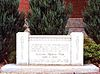 Granite slab Royal Military College Saint Jean WWII monument.jpg