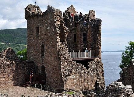 Datierung in der neuen Burg auf Tyne