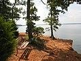 Grapevine lake northshorebench.jpg