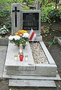 Grave of Anton Sokał-Kutyłouski.jpg