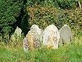 Gravestones, Imber Baptist Church, Imber - geograph.org.uk - 541231.jpg