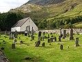 Graveyard and kirk, Arnisdale - geograph.org.uk - 975220.jpg