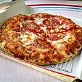 Great -pizza it ain't. But food always tastes better with a side of magic. -Disneyland -disneyfood -disney -foodpic -foodporn -food -pepperoni -pepperonipizza.jpg