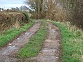 Green lane to Burnaston - geograph.org.uk - 312470.jpg