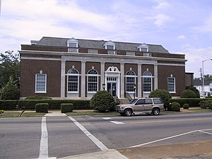 Greenville, Alabama - Image: Greenville AL Post Office
