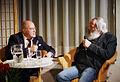 Gregor Gysi im Gespräch mit Harry Rowohlt am 9. Januar in Hannover (8366352247).jpg