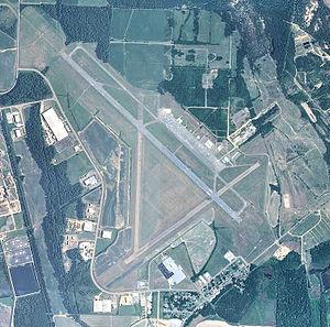 Grenada Municipal Airport - USGS 2006 orthophoto