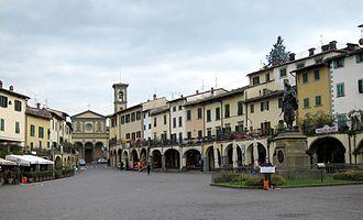 Greve in Chianti - Image: Greve piazza