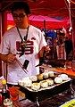 Grilling rice balls by Uncleweed in Vancouver.jpg