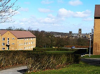 Grey College, Durham - View of Durham Cathedral from Grey College