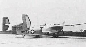 Grumman E-1 Tracer - The XTF-1W prototype.