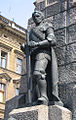 Grunwald (Žalgiris) monument in Krakow (detail Vytautas).jpg
