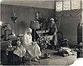 Guendolen Carkeek working at a Red Cross thrift store, circa 1916 (MOHAI 4408).jpg