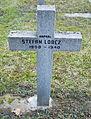 GuentherZ 2013-01-12 0390 Wien11 Zentralfriedhof Gruppe88 Soldatenfriedhof polnisch WK2 Grabkreuz Stefan Lobcz.JPG
