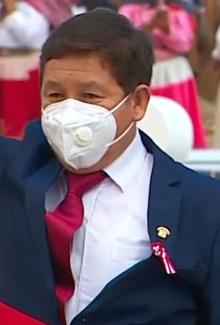 Гвидо Беллидо.  Президент Педро Кастильо jura de manera simbólica en histórica Pampa de Ayacucho 14-9 скриншот (обрезанный 2) .png