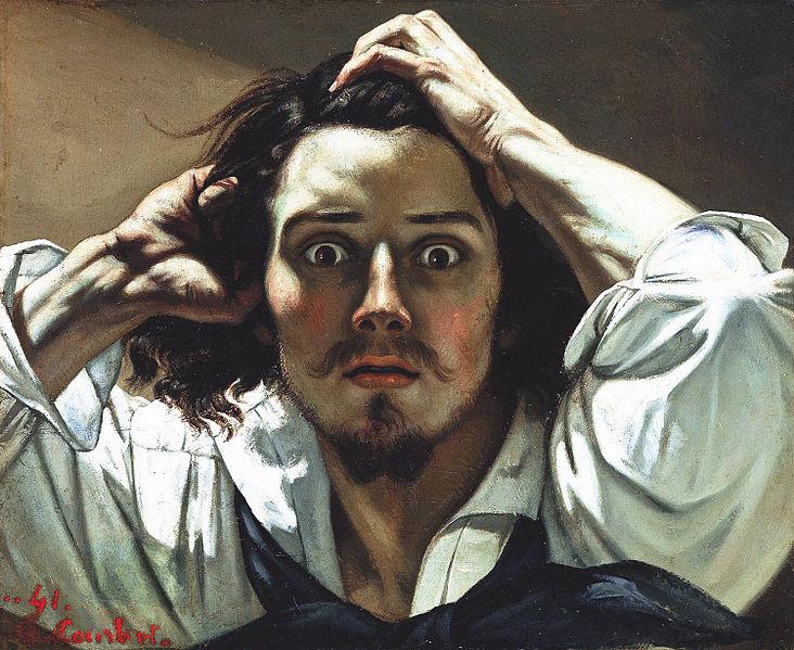 File:Gustave Courbet - Le Désespéré (1843).jpg