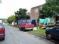 Gypsy encampment, Cowm Park Way, Whitworth - geograph.org.uk - 869161.jpg