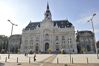 Roubaix - The city hall
