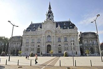 Roubaix - The city hall