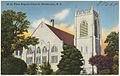 H-16. First Baptist Church, Henderson, N. C. (5811462973).jpg