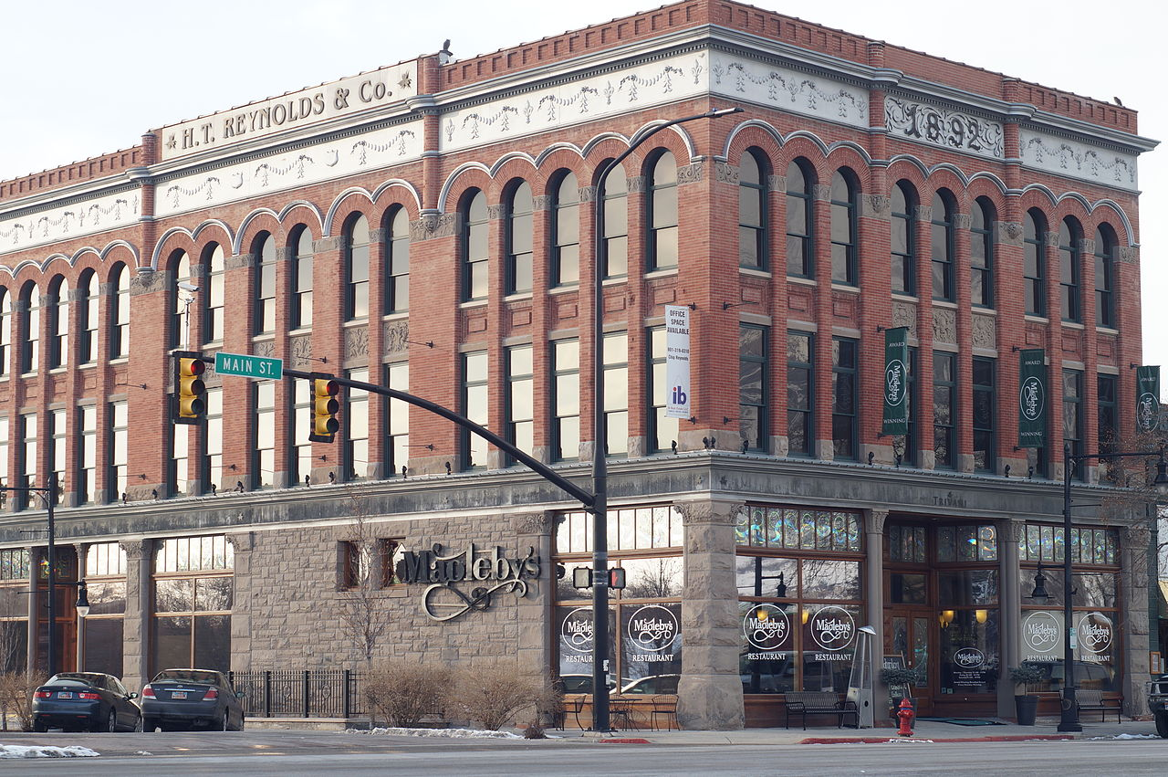 File H T Reynolds Co Building 1892 Springville Utah Jpg