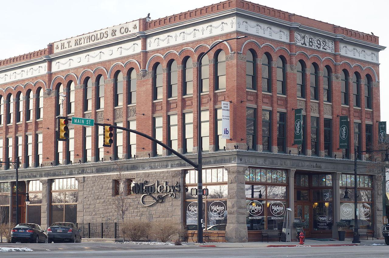 File H T Reynolds Co Building 1892 Springville Utah Jpg