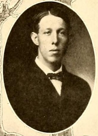 H. B. Galbraith - Galbraith pictured in Forester 1909, Lake Forest yearbook