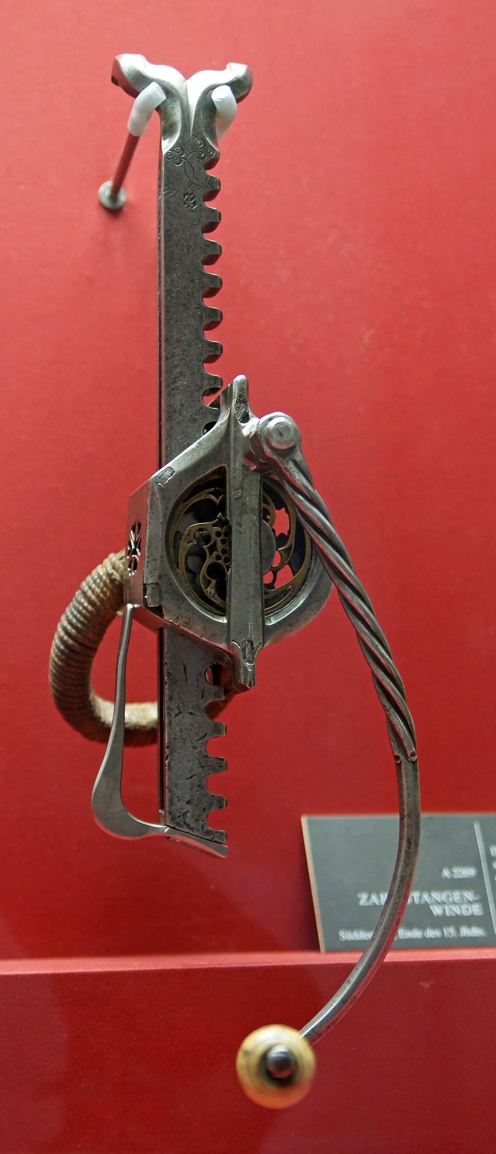 HJRK A 2269 - Crossbow windlass, late 15th century
