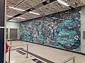HK 港鐵 MTR 南港島線 South Island Line 利東邨站 Lei Tung Station January 2021 SS2 wall art 01.jpg