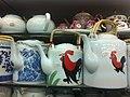 HK 灣仔道 Wan Chai Road 興記 Hing Kee shop - 雞公茶壺 Cock Teapots Feb-2012.jpg