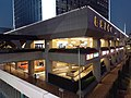 HK WC 灣仔 Wan Chai Gloucester Road footbridge view Sun Hung Kai Centre mall evening November 2020 SS2.jpg