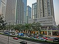 HK Wan Chai 灣仔 告士打道 Gloucester Road view Candlenut trees China Resource Building n Causeway Building Mar-2013.JPG