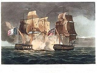 Capture of La Gloire April 10th 1795