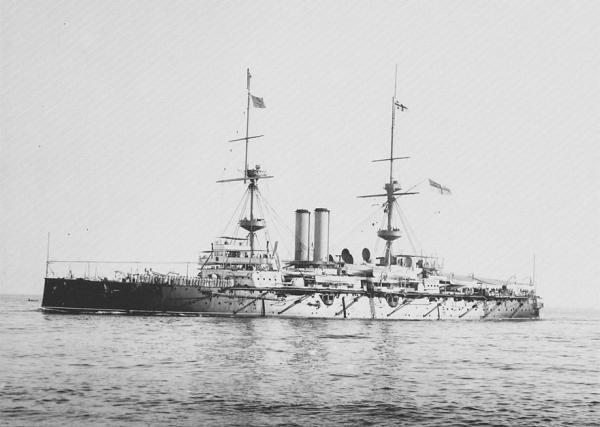 HMS Ramillies 1892