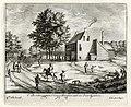HUA-136016-Gezicht vanaf het dierenpark van het huis Soestdijk te Baarn op het huis van de boswachter.jpg
