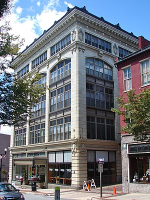 C. Emlen Urban - The Hager Building in downtown Lancaster