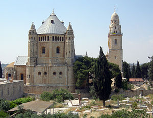 Bargil Pixner - Abbey of the Dormition, where Pixner took his final vows and later served as a prior