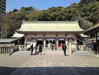 Terukuni jinja - Terukuni shrine precincts