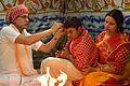 Hair Cutting by Acharya - Upanayana Ceremony - Simurali 2015-01-30 5616.JPG
