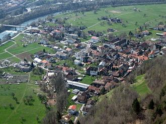 Haldenstein - Image: Haldenstein Dorf