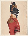 Half-length silhouette of a young officer of the 103rd regiment Met DP887338.jpg