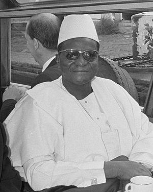 Hamani Diori - Hamani Diori in 1968
