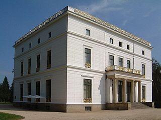 Jenisch House classicist manor house in Hamburg-Othmarschen, now a museum