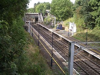 Hampton-in-Arden railway station - Image: Hampton in Arden railway station 1